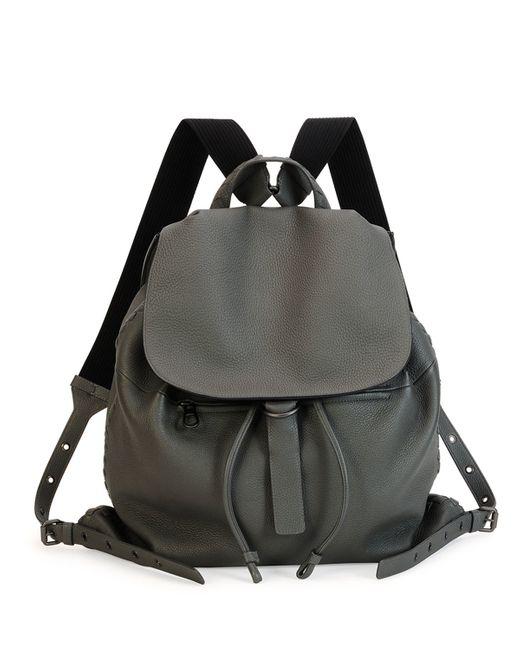 Bottega Veneta | Black Woven Leather Backpack for Men | Lyst