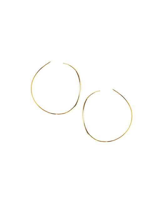 Lana Jewelry | Metallic 14k Elite Small Wave Hoop Earrings | Lyst