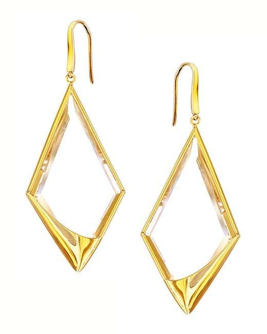 Lana Jewelry | Metallic 14k Elite Jetset Crystal Dangle Earrings | Lyst