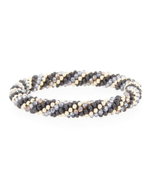 Meredith Frederick | Metallic Regina 14k Gold & Mystic Topaz Bracelet | Lyst