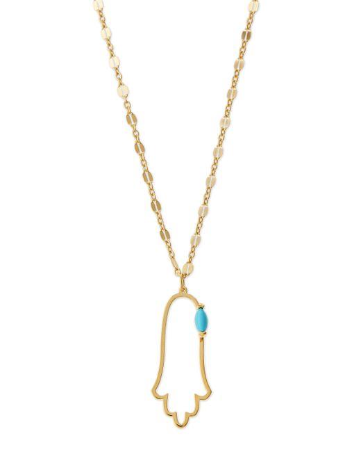Jennifer Zeuner | Metallic Annaliese Hamsa Pendant Necklace | Lyst