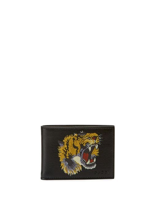 b715aaa20dc1 Gucci Wallet Tiger Black | Stanford Center for Opportunity Policy in ...