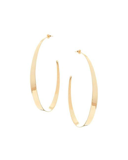 Lana Jewelry | Metallic Large Narrow Gloss Hoops | Lyst