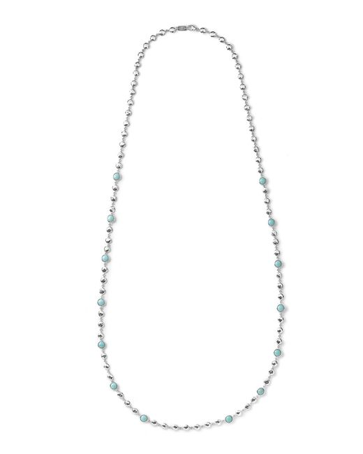 Ippolita | Metallic Silver Rock Candy Multi-stone Necklace In Turquoise | Lyst