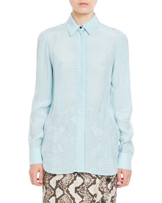 Altuzarra | Blue Gingham Shirt | Lyst