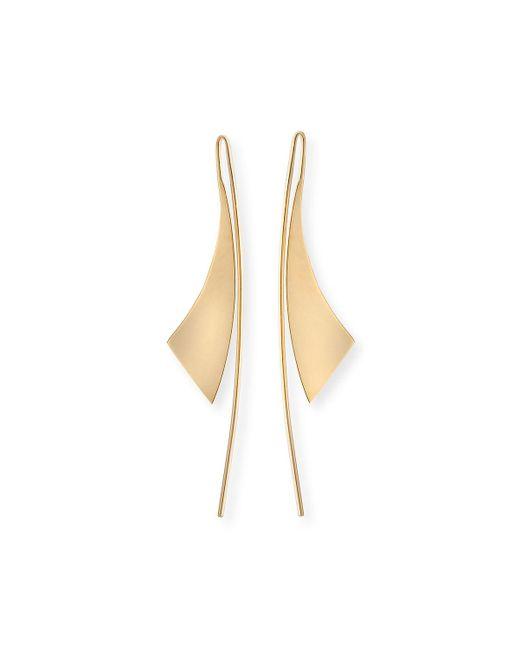 Lana Jewelry   Metallic Small Gloss 14k Gold Hoop Earrings   Lyst