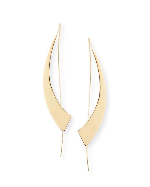 Lana Jewelry   Metallic Large Gloss Hooked On Hoops Earrings   Lyst