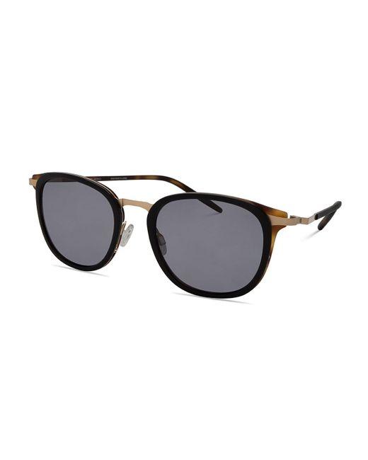 Barton Perreira   Black B030 Polarized Square Sunglasses   Lyst