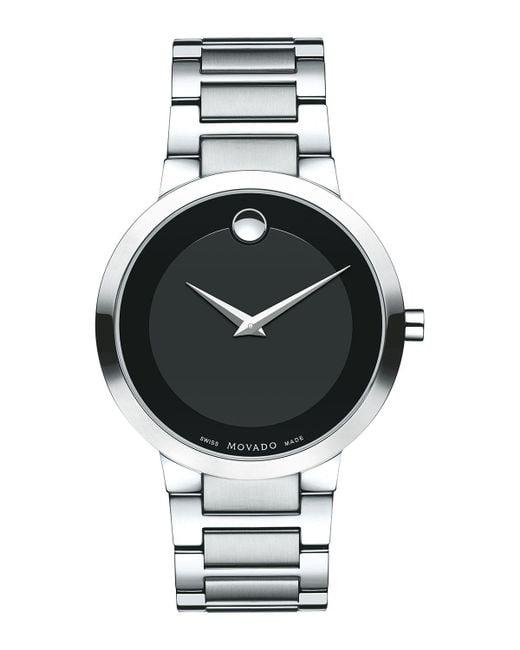 Movado | Black 39.2mm Modern Classic Watch for Men | Lyst