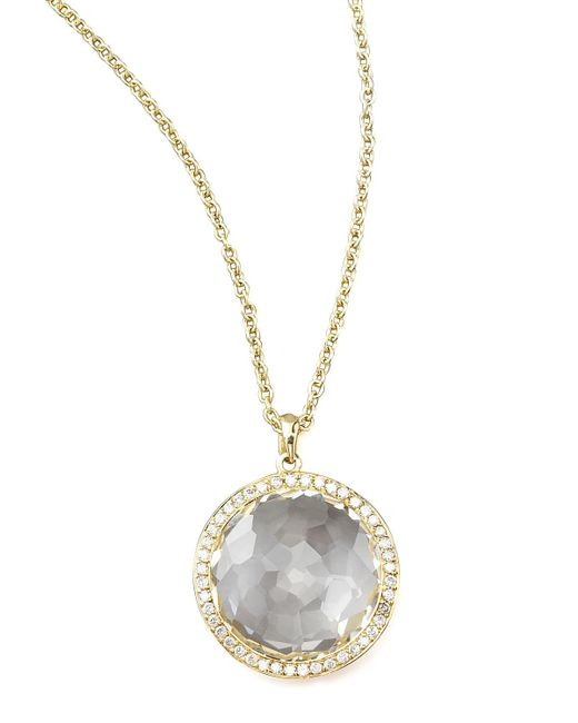 Ippolita | Metallic Clear Quartz Pendant Necklace | Lyst