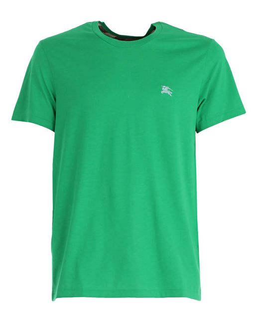 Burberry - Green T-shirt for Men - Lyst