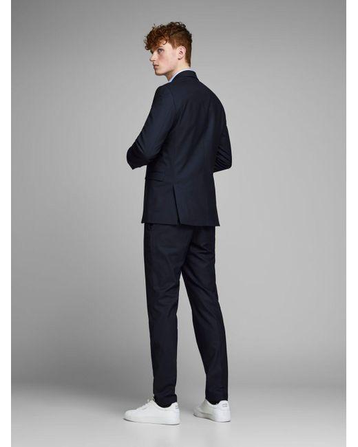 Jack & Jones Classic Elegant Blazer in het Blue voor heren