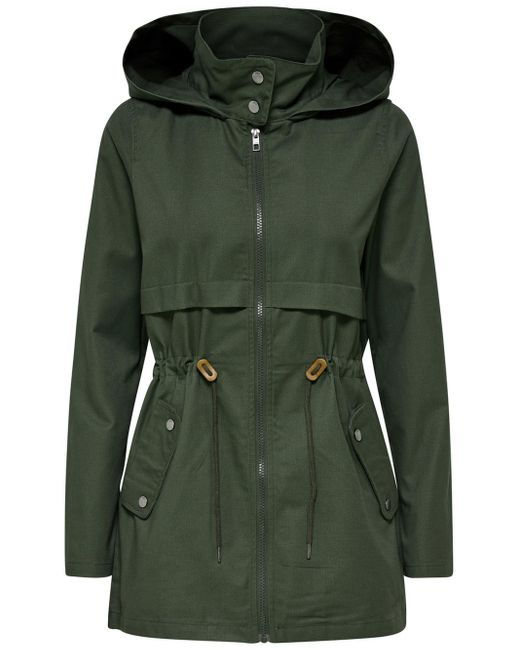 ONLY Seizoens Parka in het Green