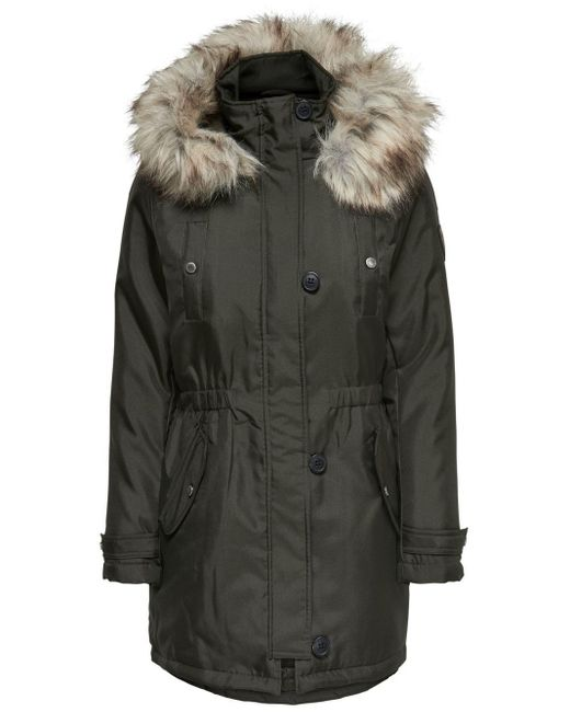 ONLY Effen Parka in het Green