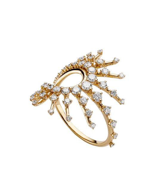 "Fernando Jorge - 18k Yellow Gold & Diamond ""clarity"" Ring - Lyst"