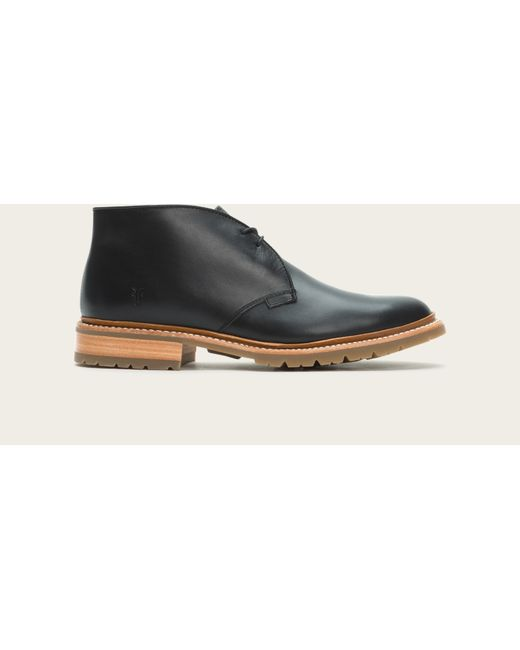 Frye | Black James Lug Chukka for Men | Lyst