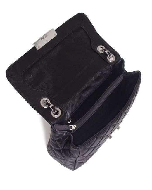 MICHAEL Michael Kors | Black Small Sloan Chain Shoulder Bag | Lyst