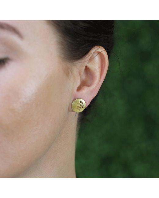 Todd Reed | Metallic Autumn Diamond Stud Earrings | Lyst