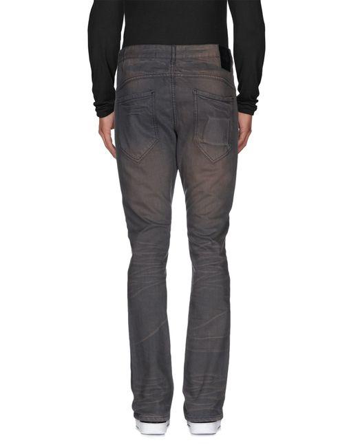 Anerkjendt | Gray Denim Trousers for Men | Lyst