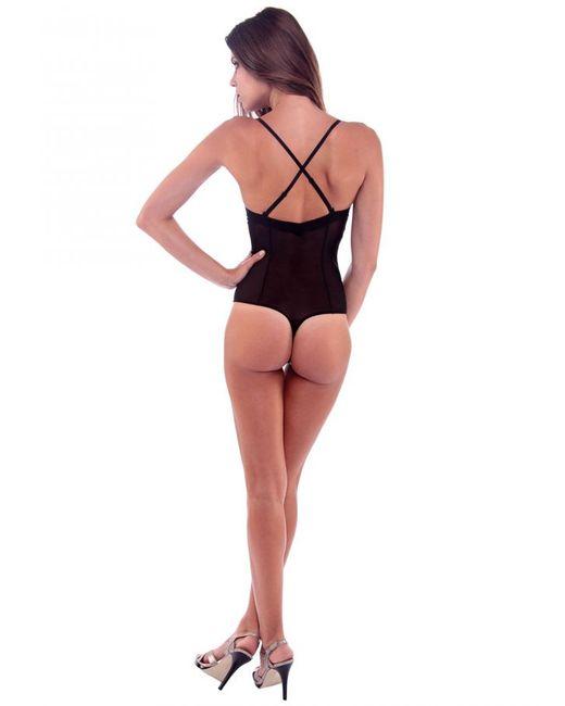 Cosabella | Black Marni Low Back Bodysuit | Lyst