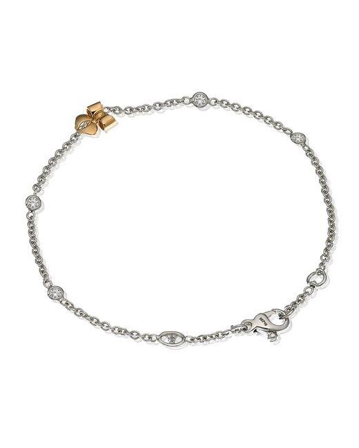 Theo Fennell | Metallic Bow Tryst Bracelet | Lyst