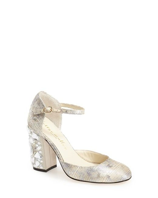 Bettye Muller | Metallic 'bejeweled' Pump | Lyst