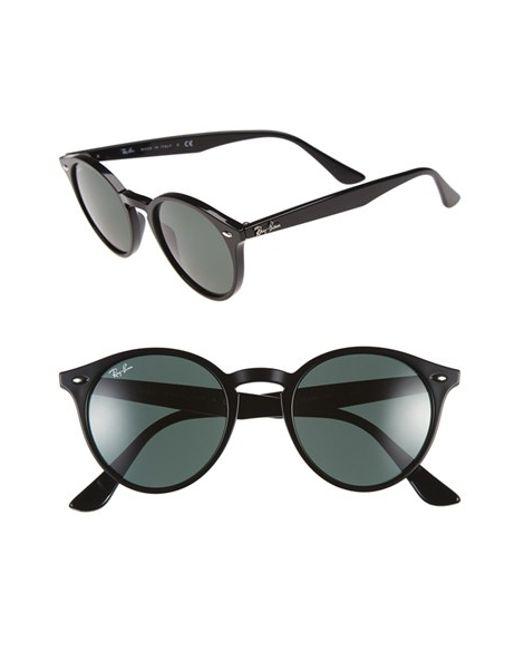 Ray-Ban | Black 'highstreet' 49mm Sunglasses | Lyst