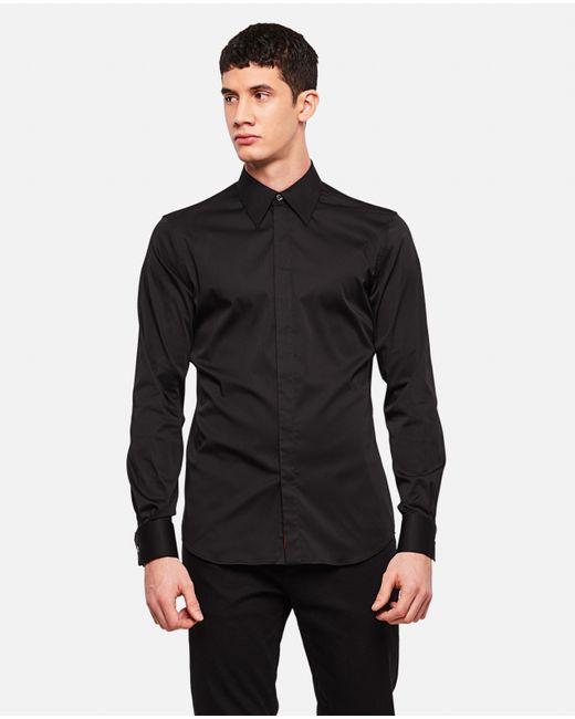 Camicia sartoriale di Alexander McQueen in Black da Uomo
