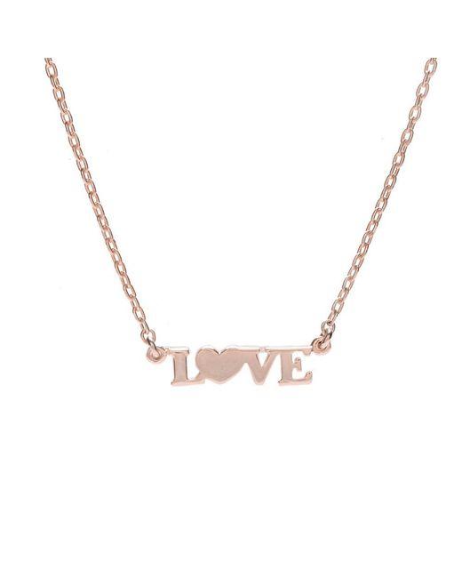 Bing Bang - Metallic Love Necklace - Lyst