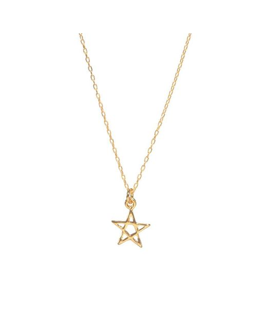 Bing Bang - Metallic Star Necklace - Lyst