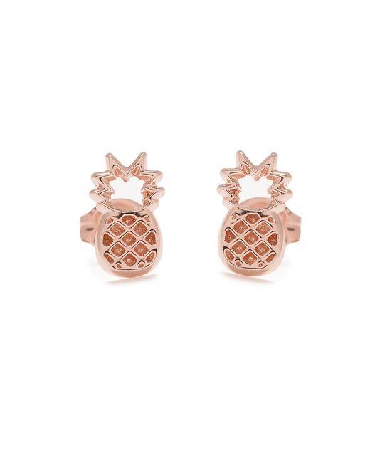 Bing Bang | Pink Pineapple Studs | Lyst