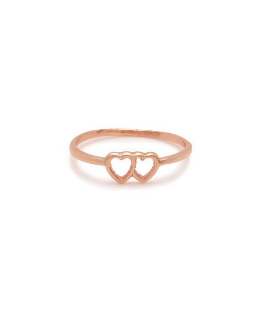 Bing Bang | Pink Tiny Loved Up Ring | Lyst