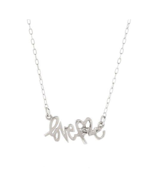 Bing Bang - Metallic Loveme Nameplate Necklace - Lyst