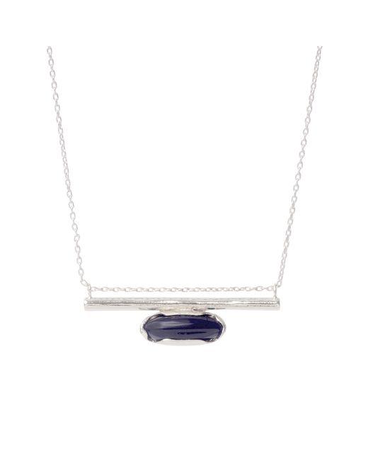 Bing Bang | Metallic Horizon Line Necklace | Lyst