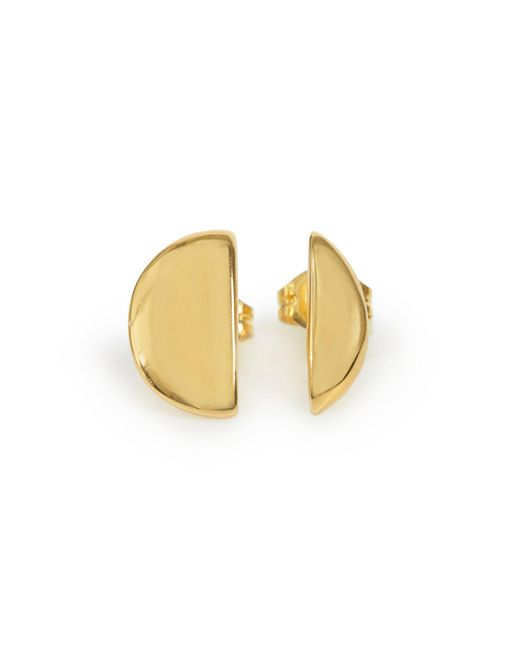 Bing Bang | Metallic Full Moon Studs | Lyst
