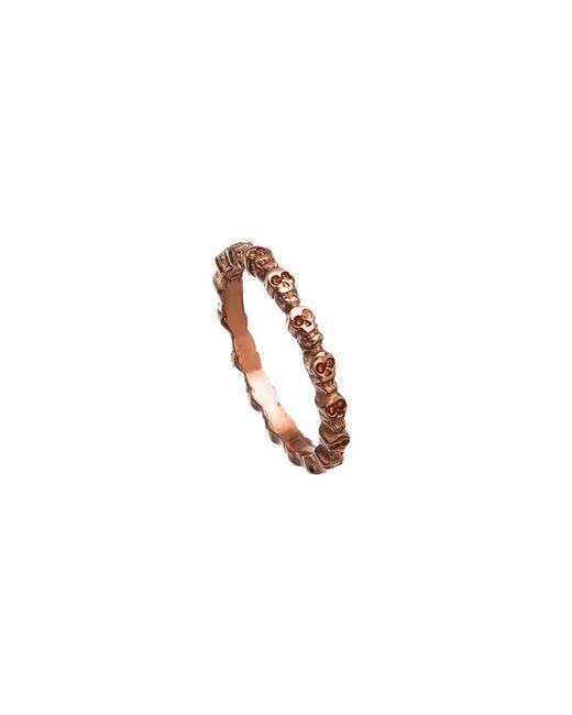 Bing Bang - Pink Eternity Skull Ring - Lyst