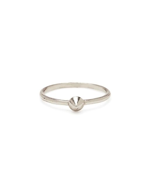 Bing Bang - Metallic Tiny Vivienne Ring - Lyst