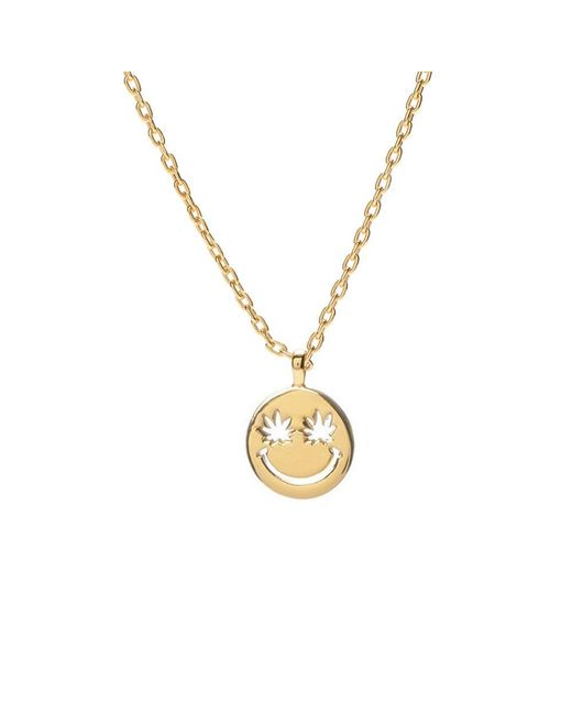 Bing Bang - Yellow Happy Eyes Necklace - Lyst