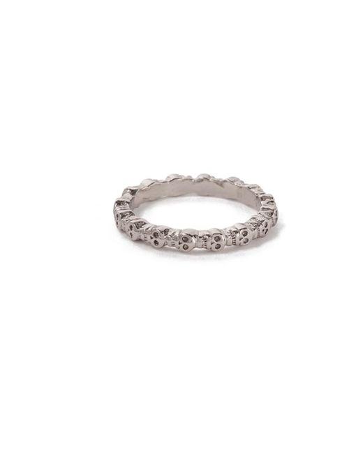 Bing Bang | Metallic Eternity Skull Ring | Lyst