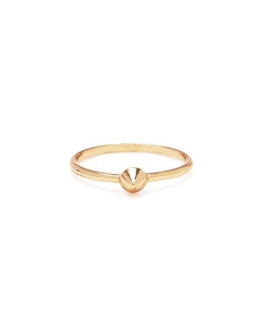 Bing Bang - Metallic Tiny Vivienne Ring - Lyst
