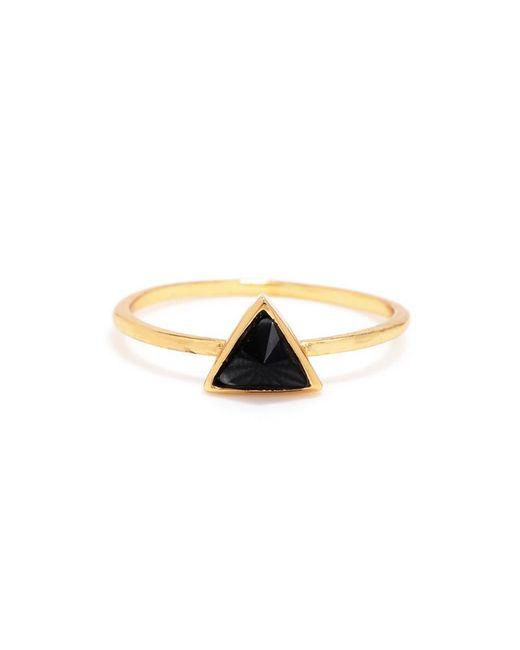 Bing Bang | Yellow Delta Bezel Ring | Lyst