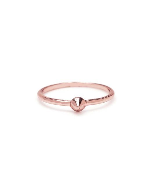 Bing Bang - Pink Tiny Vivienne Ring - Lyst