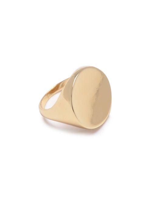 Bing Bang - Metallic Scarpa Ring - Lyst