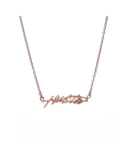 Bing Bang - Pink Hustle Necklace - Lyst