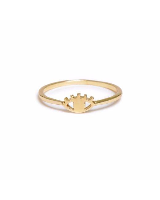 Bing Bang | Metallic Eye Ring | Lyst