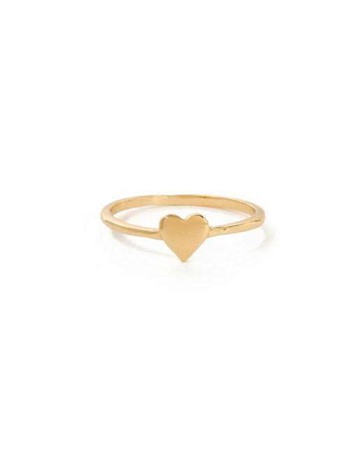 Bing Bang - Yellow Heart Ring - Lyst