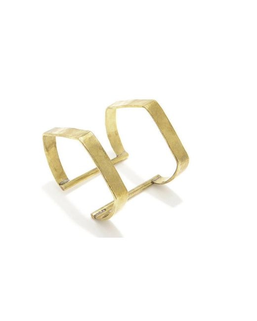 Bing Bang | Yellow Double Temple Cuff | Lyst