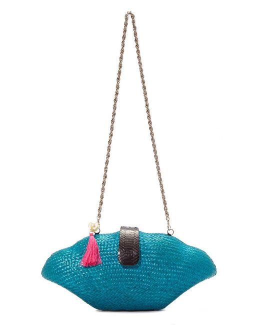 KATE CHAN - Blue Seaside Shell Clutch - Lyst