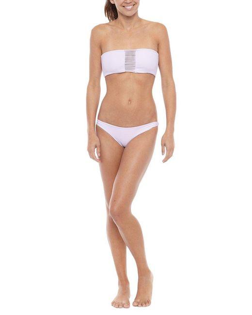 Mikoh Swimwear | Purple Sunset Top | Lyst