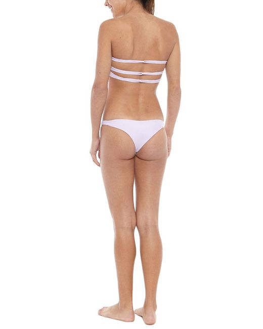Mikoh Swimwear   Pink Lahaina Bottom   Lyst
